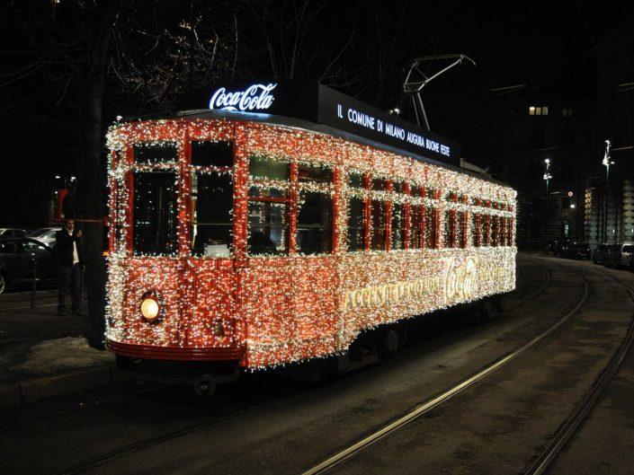 evento aziendale di natale in tram