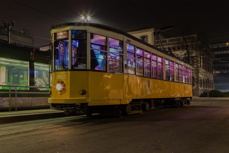 discotram festa in tram milano